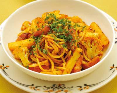 変わりスパゲティナポリタン