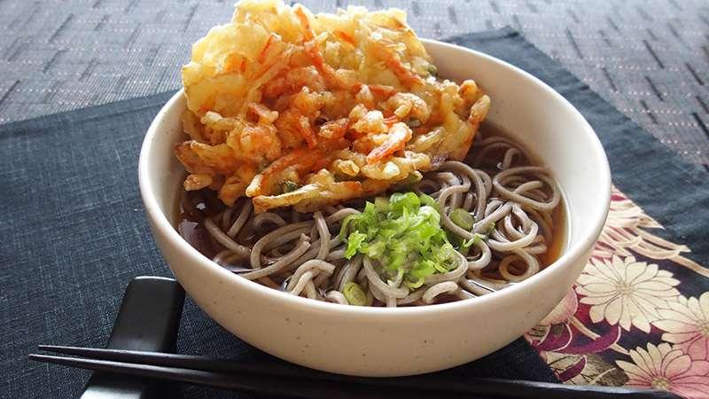 日本そばのレシピ
